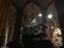 St. George & the Dragon, Stockholm Cathedral