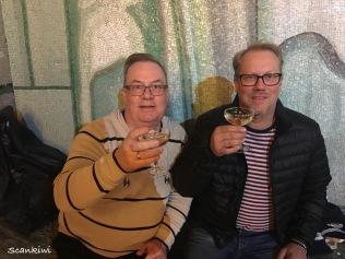 Drinking Champagne, Golden Hall, Stockholm Town Hall