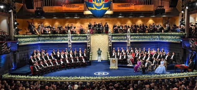 Nobel Ceremony, Stockholm Concert House