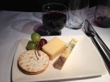 4 course dinner - cheese board & port