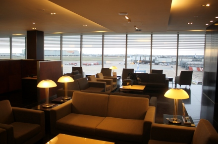 London Heathrow Cathay Business Class Lounge Terminal 3