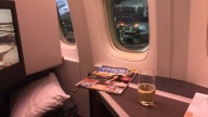 On board CX250 London to Hong Kong Business Class