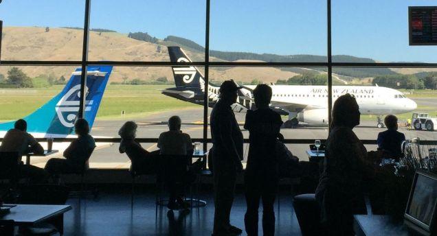 Dunedin Airport, New Zealand