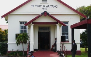 Te Tiriti O Waitangi - Upper Maori Marae, Waitangi