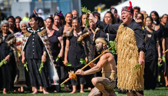 Te arawa kaikaranga powhiri - Maori Challenge & welcome