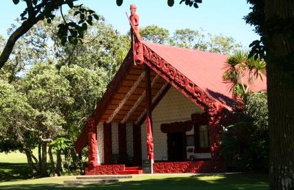 Meeting house - Waitangi Marae