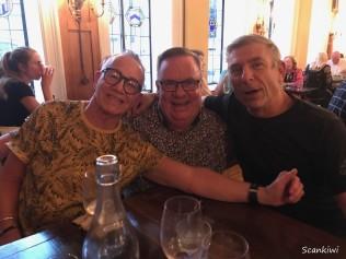 Ron & HJ & Charles, Dunedin