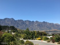 Queenstown, Kelvin Heights & Remarkables mountains