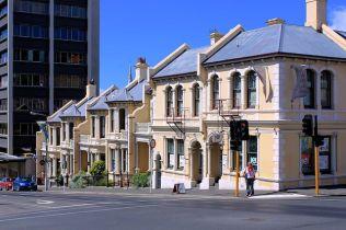 Terrace Houses, Stuart street, Dunedin