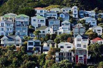 Wooden villas, Dunedin